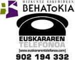 EUSKARAREN TELEFONOA BEHATOKIA