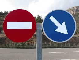 señal obligacion prohibido